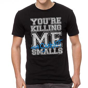 You're Killing Me Smalls The Sandlot Graphic Men's Black T-shirt