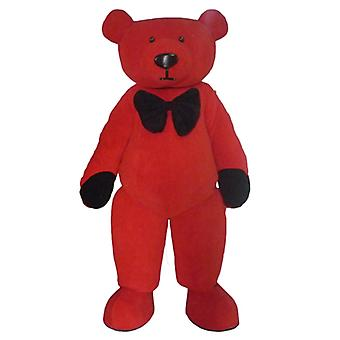 mascot bear plush red and black SPOTSOUND