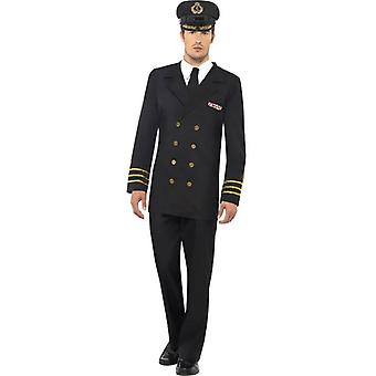 Smiffy's Navy Officer Costume,