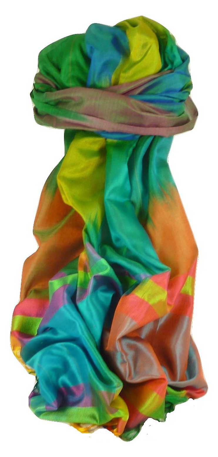 Varanasi Ekal Premium Silk Long Scarf Heritage Range Jindal 10 by Pashmina & Silk