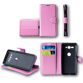 For Samsung Galaxy J4 plus J415F Pocket wallet premium pink Schutz sleeve case cover pouch new accessories