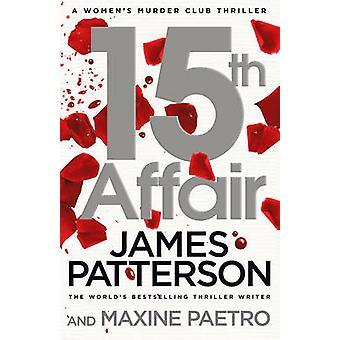 15 romance de James Patterson - libro 9780099594581