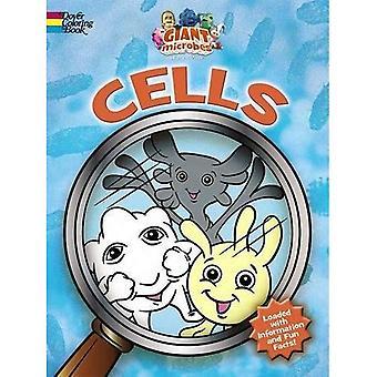 GIANTmicrobes--Celler målarbok