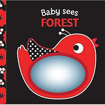 Skog: En mjuk bok och spegel för Baby!