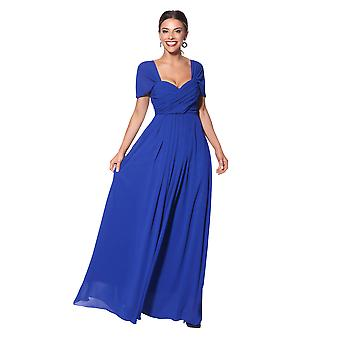 KRISP mujeres en hombro noche noche boda larga dama de honor maxi vestido de fiesta 8-20