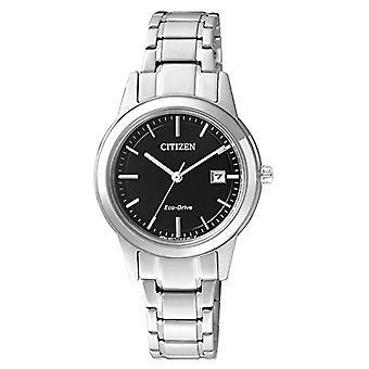 Citizen kvinners-XS rustfritt stål kvarts armbåndsur FE1081-59E