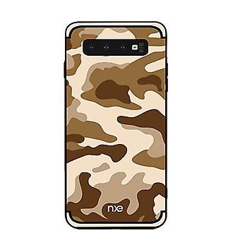 NXE Samsung Galaxy S10e TPU-shell-camouflage-Brown