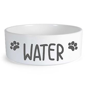 المياه كبيرة السيراميك الكلب السلطانية