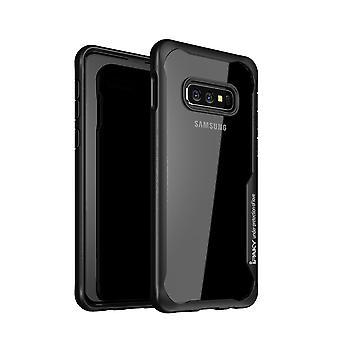 IPAKY Samsung Galaxy S10e TPU Hybrid Shell-Black