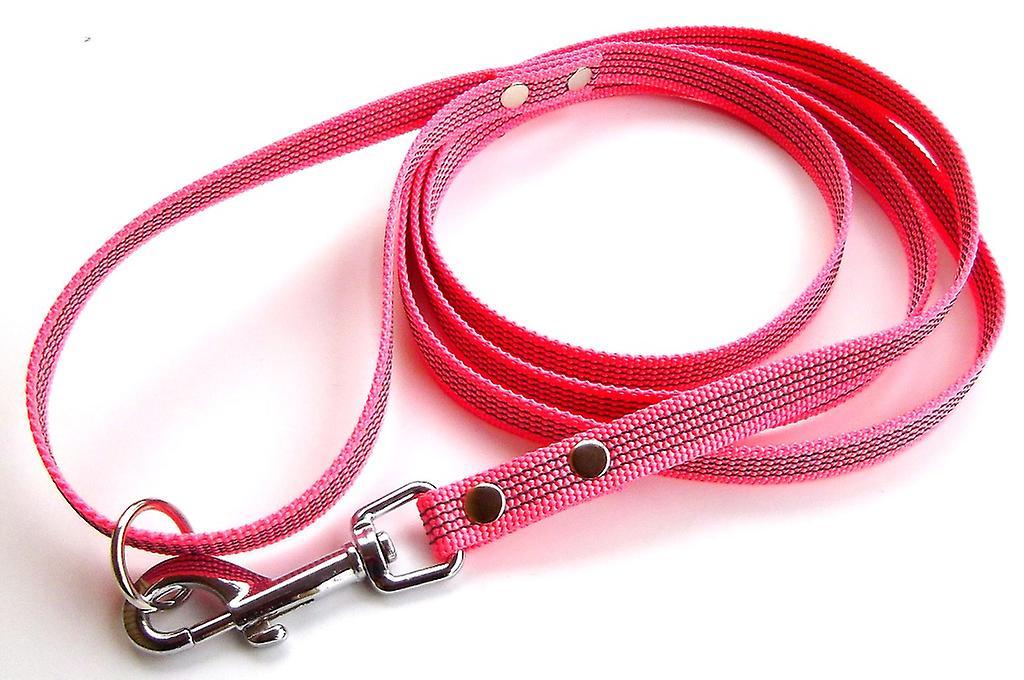 Super-Grip leash, pink 15 mm wide