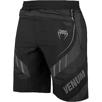 Venum 技术 2.0 训练短裤 - 黑色/黑色