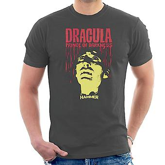 Hammer Dracula Prince Of Darkness Poster Men's T-Shirt
