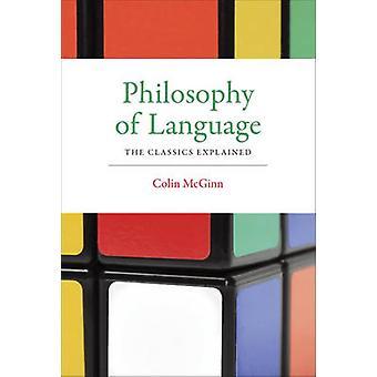 説明コリン ・ マッギン - 9780 古典言語の哲学