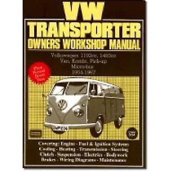 Volkswagen Workshop Manual - Vw Transporter 1954-67 - Part No Owm834 by