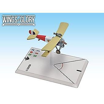 Wings of Glory WWI Nieuport 11 De Turenne Figure
