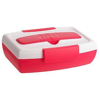 Trudeau Fuel 4 Stück Lunch Container Set, hellrosa