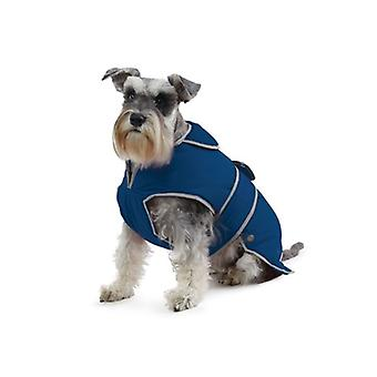 Cappotto impermeabile cane di Stormguard Navy - Medium