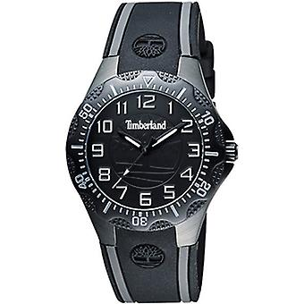 Timberland Dixiville s Quartz Analog Woman Watch with Silicone Bracelet 14323MSB-02