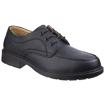 Amblers Safety Mens FS65 Gibson Pizzo Safety Scarpe Nero