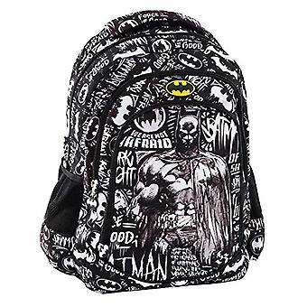 Graffiti Batman Backpack - 44 cm - Black (Black) 175212