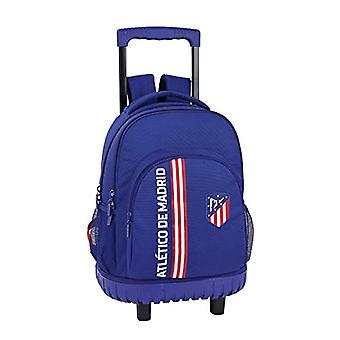 Atl?tico Madrid'in Blue' Official School backpack Grande with wheels 320 x 140 x 460 mm
