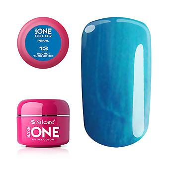 Base one-Pearl-Secret Turquoise 5g UV Gel