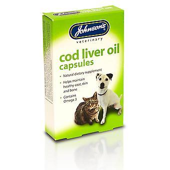 Cápsulas de óleo de fígado de bacalhau JVP (170Caps)