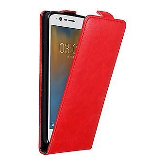 Cadorabo geval voor Nokia 3 2017 Case cover-telefoon geval in flip ontwerp met magnetische sluiting-gevaldekking geval geval geval boek vouwen stijl