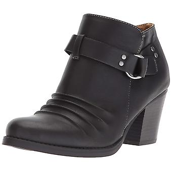 NATURAL SOUL Womens Yeva Round Toe Ankle Fashion Boots