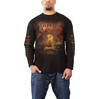 Therion T Shirt Sirius B Band Logo new Official Mens Long Sleeve Black