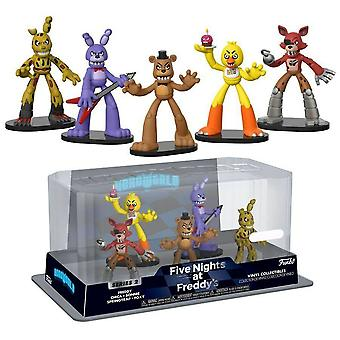 Five Nights at Freddy's Hero World #1 US Exclusive 5 Pk