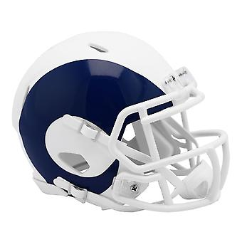 Riddell Speed Mini Football Helmet - NFL AMP Los Angeles Rams