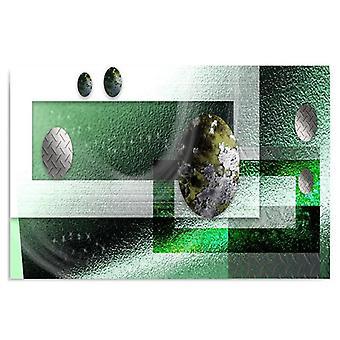 Deco Panel, a composição metálica 3