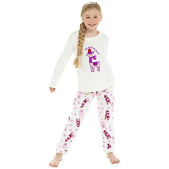 Kids Novelty LLama Fleece Pyjama Set
