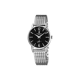 Festina שעון אנלוגי Quarzo אישה עם רצועת פלדה נירוסטה F20256-4