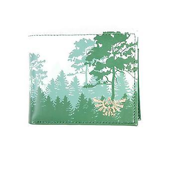 Zelda Wallet Breath of the Wild  Forest new Official Nintendo Green Bifold
