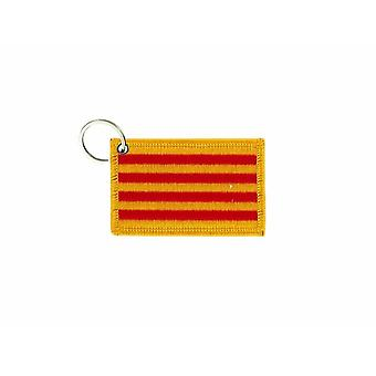 Cle Cles Clef Brode Patch Ecusson Badge Flag Caalogne Spain Catalan