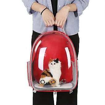 Red Cat Dog bag backpack Transport bag