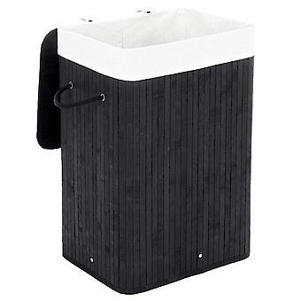 Bamboo storage basket/ laundry basket - 72l - various color options