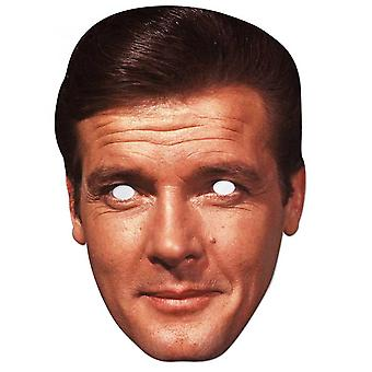 Roger Moore  Celebrity  2D Single Card Party Face Mask