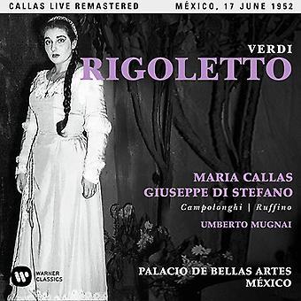 Callas*Maria - Verdi: Rigoletto (Mexico 17/06/1952) [CD] USA import