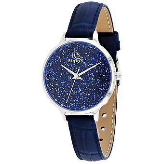 Roberto Bianci Femmes apos;s Gemma Blue Dial Watch - RB0244