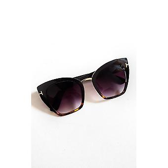 IKRUSH Womens Emily Tortoiseshell Square Sunglasses