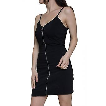 Attitude Clothing Cami Zip Bodycon Utility Dress