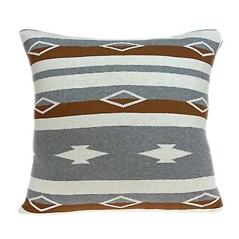 Square Decorative Southwest Tan Pillow Cover