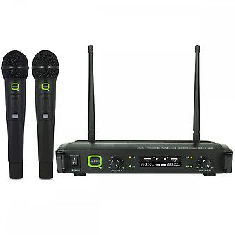 Q-audio Q-audio Qwm1932hh Dual UHF håndholdt system