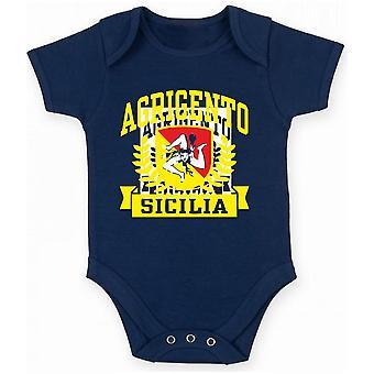 Body newborn navy blue dec0463 Agrigento Sicilia
