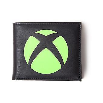 Microsoft Xbox logo Bi-fold Portemonnee mannelijk zwart (MW736701XBX)