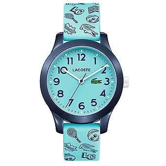 Lacoste 2030013 kinderen ' s 12,12 licht blauw siliconen horloge