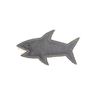 Outback haler jute tygge dyr leketøy, Shazza den store hvite haien